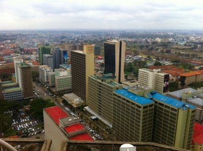 Nairobi from the KICC