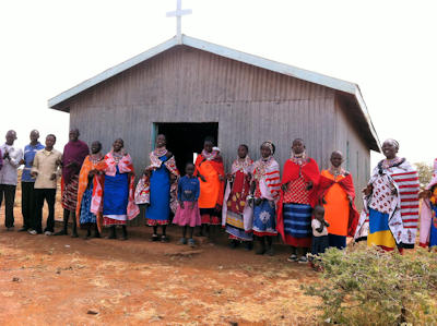Maasai church