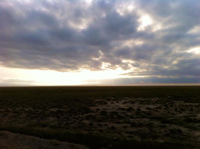 Amboseli morning sky