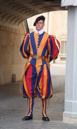 Rome - Vatican Swiss Guard